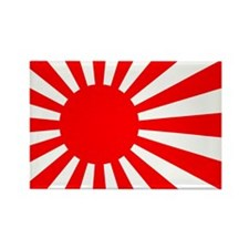 Cute Japan flag Rectangle Magnet (10 pack)