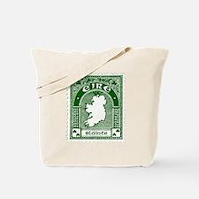 Eire Slainte Irish Clover Tote Bag