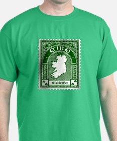 Eire Slainte Irish Clover T-Shirt