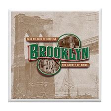 Classic Brooklyn Tile Coaster