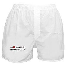 Belongs To A Lumberjack Boxer Shorts