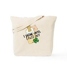 Funny Baby St. Patricks Tote Bag