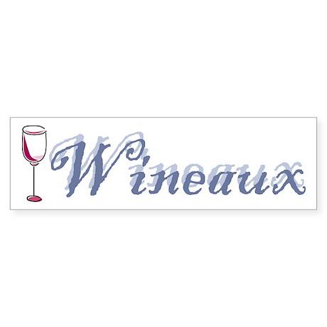 Wineaux Sticker (Bumper)