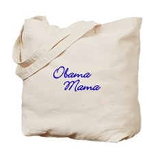 Obama Mama - Blue Tote Bag