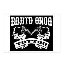 TATTOO VICTIMS WANTED Postcards (Package of 8)
