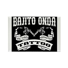 TATTOO VICTIMS WANTED Rectangle Magnet (10 pack)