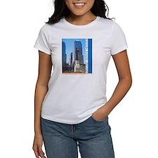 REMEMBER GROUND ZERO's HEROES women's tee NYC WTC
