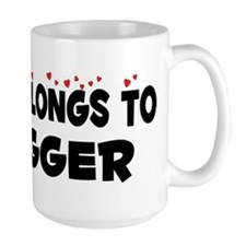 Belongs To A Logger Mug