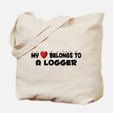 Belongs To A Logger Tote Bag