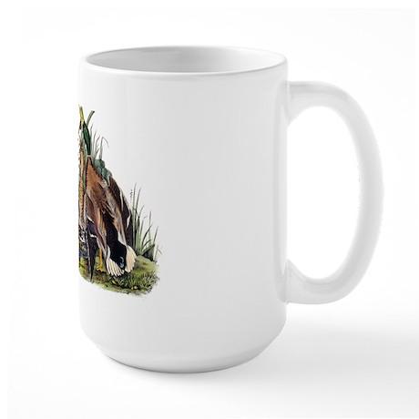 Audubon Mallard Ducks Large Mug