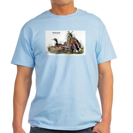 Audubon Mallard Ducks Light T-Shirt