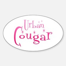 Urban Cougar Oval Decal