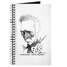 Cute Caricature artist Journal