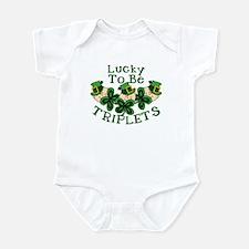 Lucky TRIPLETS Infant Bodysuit