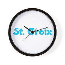 St. Croix Wall Clock