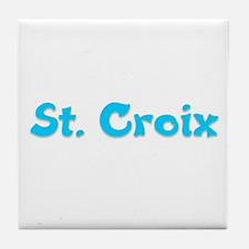 St. Croix Tile Coaster