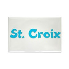 St. Croix Rectangle Magnet