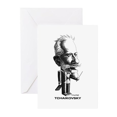 Tchaikovsky Greeting Cards (Pk of 10)