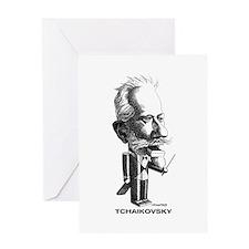 Tchaikovsky Greeting Card