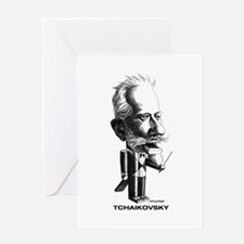 Tchaikovsky Greeting Card