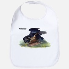 Audubon Black Vultures Bird Bib
