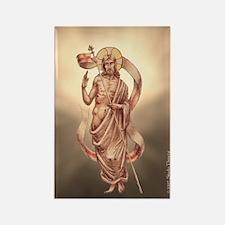 """Resurrected Christ"" Rectangle Magnet"
