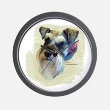 Billi the Schnauzer Wall Clock