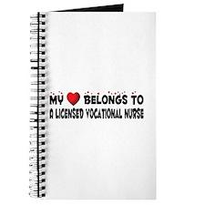 Belongs To A Licensed Vocational Nurse Journal