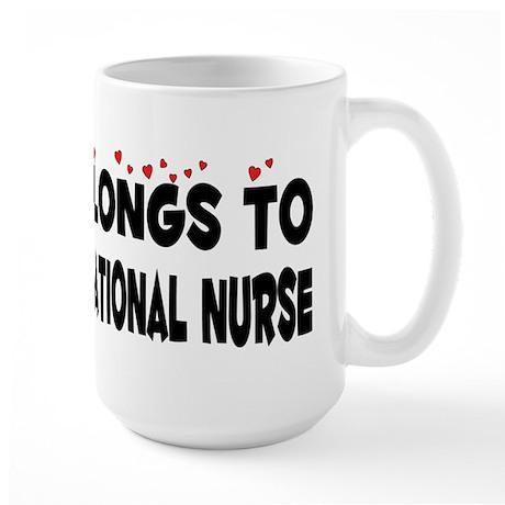 Belongs To A Licensed Vocational Nurse Large Mug