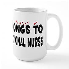 Belongs To A Licensed Vocational Nurse Mug