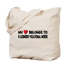 Belongs To A Licensed Vocational Nurse Tote Bag