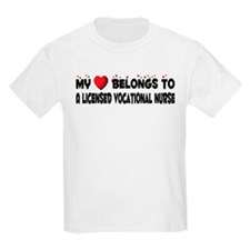 Belongs To A Licensed Vocational Nurse T-Shirt