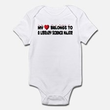 Belongs To A Library Science Major Infant Bodysuit