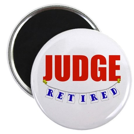 Retired Judge Magnet