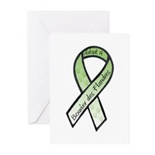 Bouvier RibbonD Greeting Cards (Pk of 20)