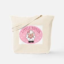Lamb Hearts Little Sister Tote Bag