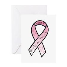 Bouvier RibbonA Greeting Card