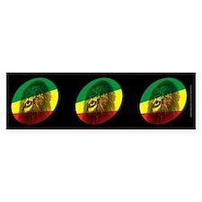 Jah Lion Dark Bumper Bumper Sticker