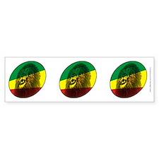 Jah Lion Bumper Bumper Sticker