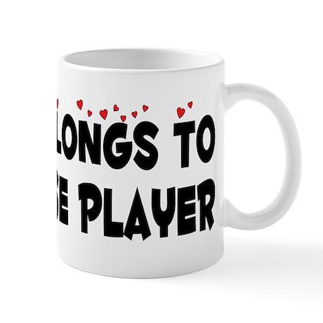 Belongs To A Lacrosse Player Mug