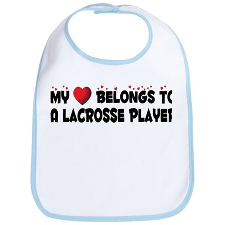 Belongs To A Lacrosse Player Bib