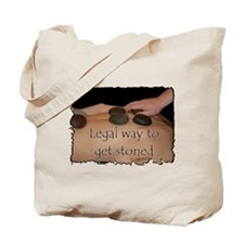 Hot Rock Therapy Tote Bag