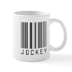 Jockey Barcode Mug