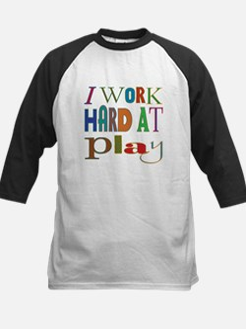 I Work Hard At Play (Boy) Tee