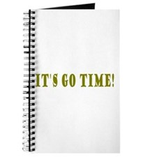 It's Go Time! Journal