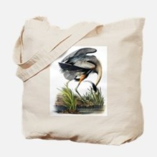 Audubon Great Blue Heron Tote Bag