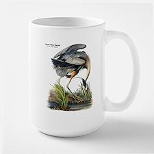 Audubon Great Blue Heron Large Mug