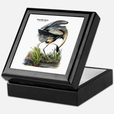 Audubon Great Blue Heron Keepsake Box