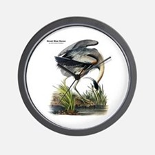 Audubon Great Blue Heron Wall Clock