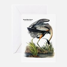 Audubon Great Blue Heron Greeting Cards (Pk of 10)